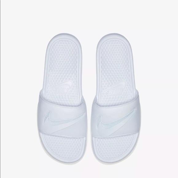 finest selection 7730b 014bc Nike Benassi JDI LTD Swoosh Pack Slides AQ8614 100